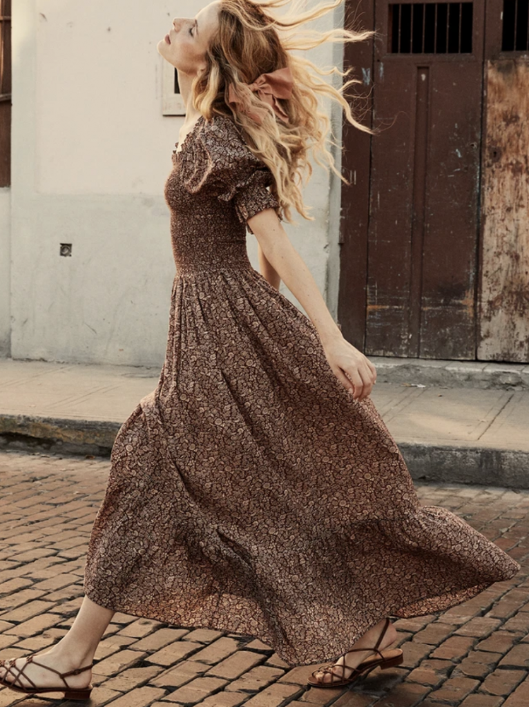 Ethical summer dress from Dôen
