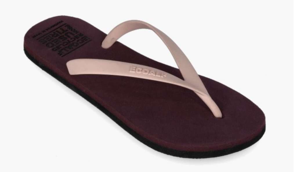 sustainable flip flops