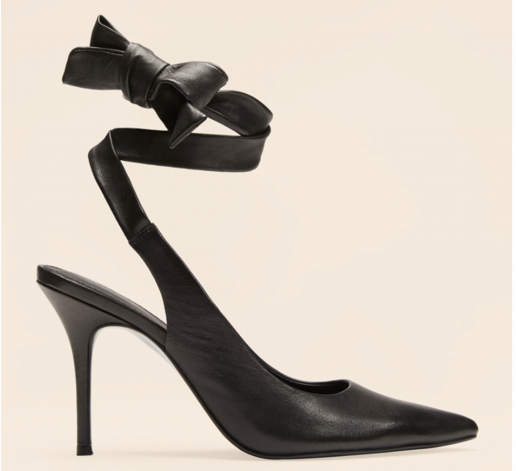 fair trade heels from Reformation in Black
