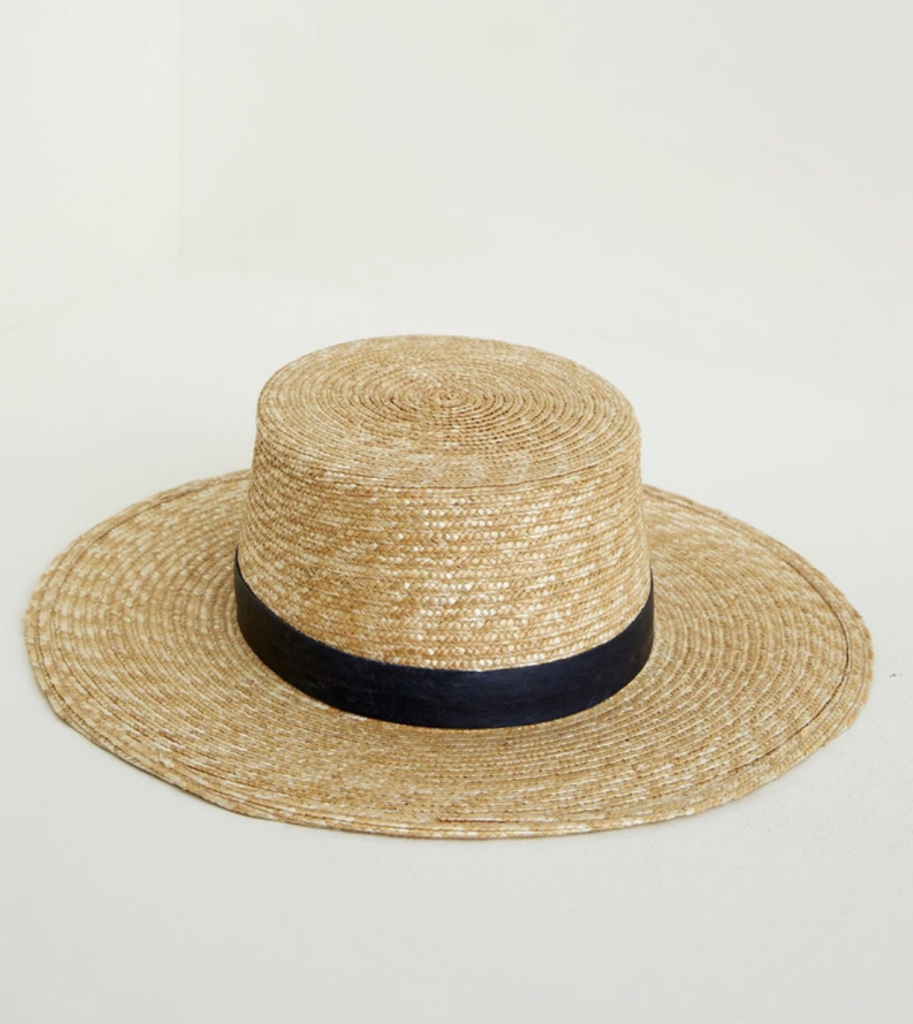 Ethical straw hat
