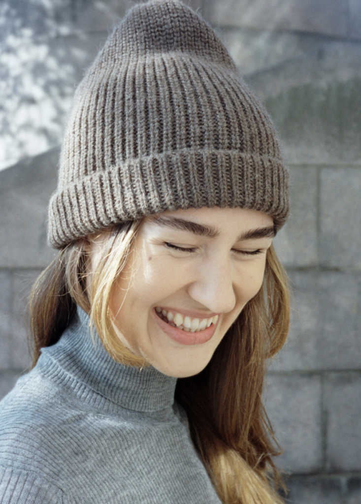 ethical beanie from Aiayu