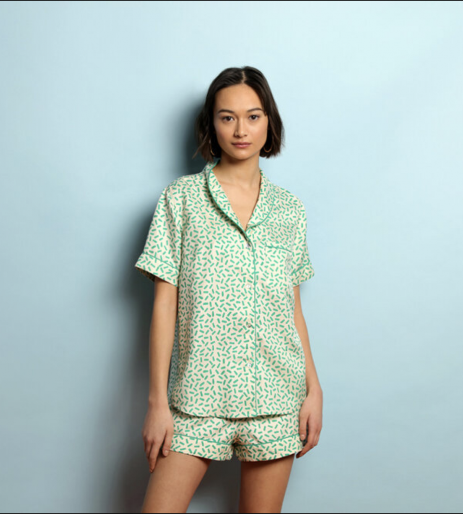 sustainable silk pyjamas