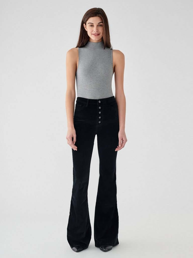 Black ethical jeans