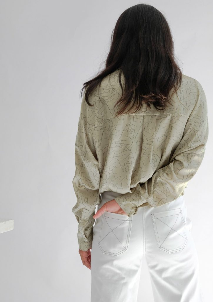 organic blouse ohsevendays