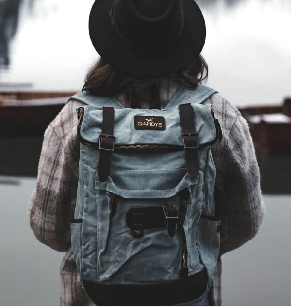 sustainable backpack gandys