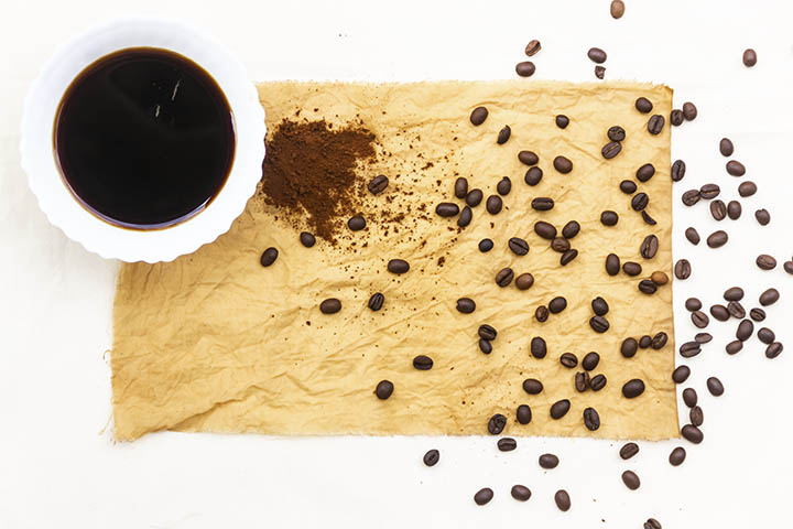 organic natural dye from coffee