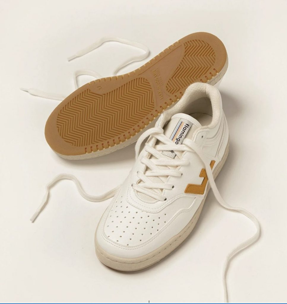 sustainable sneakers flamingos life