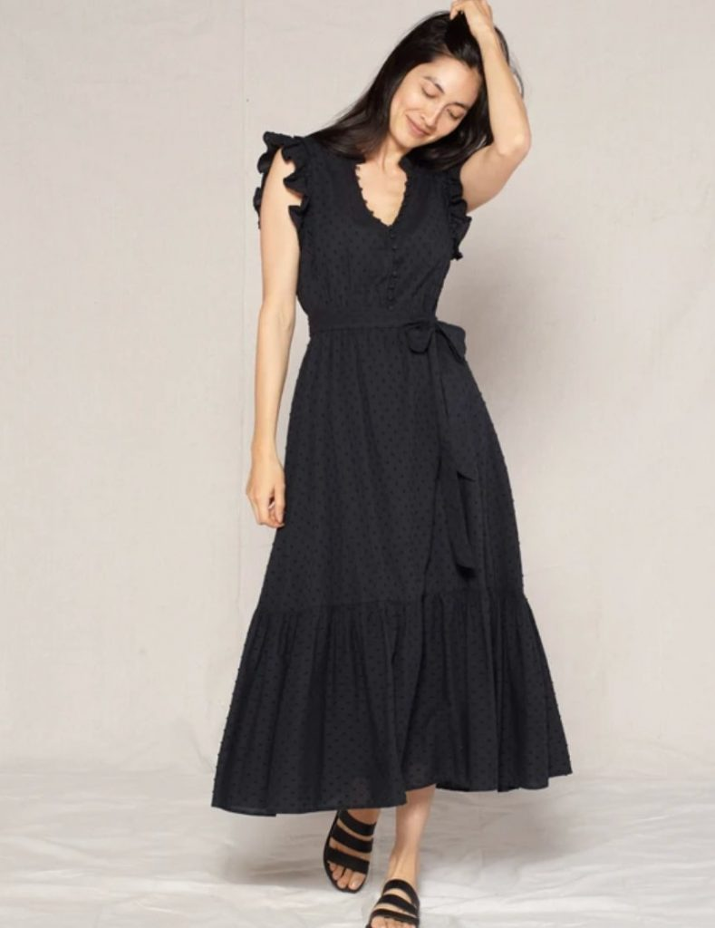 black dress outerknown