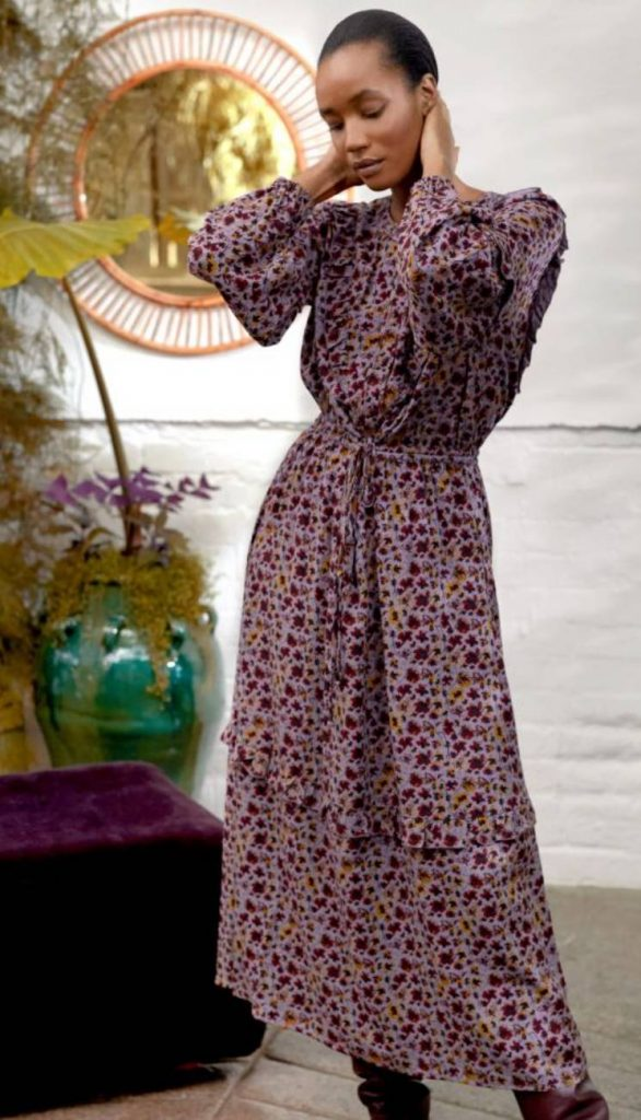 ethical maxi dress thought