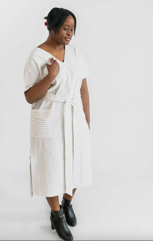 ethical maxi dress two days off