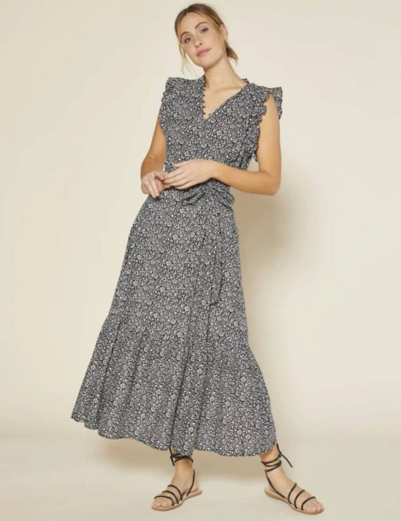 sustainable flower dress outerknown
