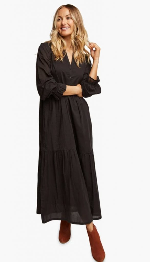 sustainable maxi dress able