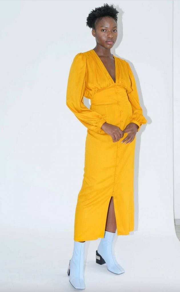 yellow maxi dress ohsevendays